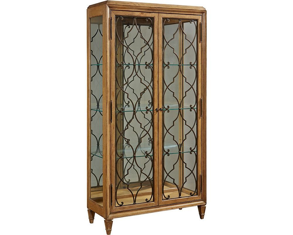 thomasville lighted curio cabinet – cabinets matttroy