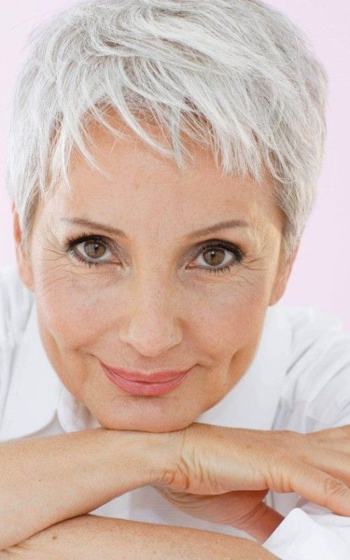 Hairstyles For Older Women Classy Tousled Pixie Haircut  Best Hairstyle And Haircuts For Older Women