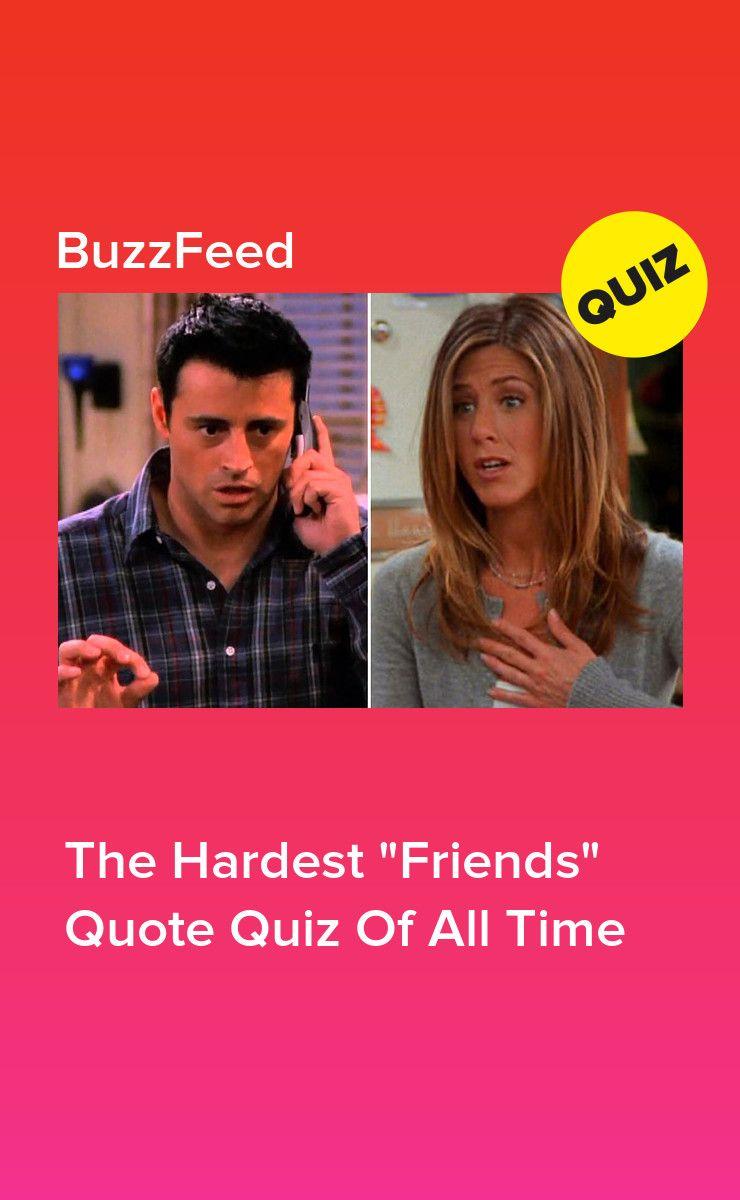 Who Said It The Friends Edition Friends Quizzes Tv Show Friends Tv Quotes Friend Quiz