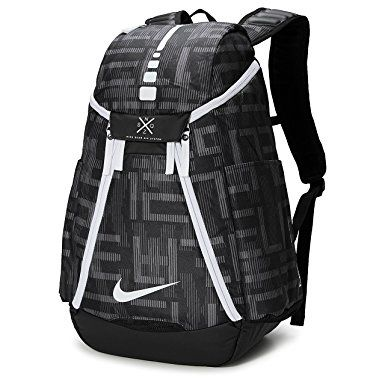 Nike Hoops Elite Max Air Team 2.0 Graphic Basketball Backpack Black White  Review 5131d0d02