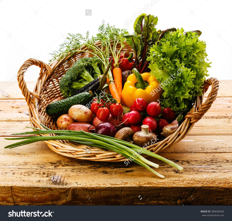basket of ve ables Google Search garden heaven Pinterest