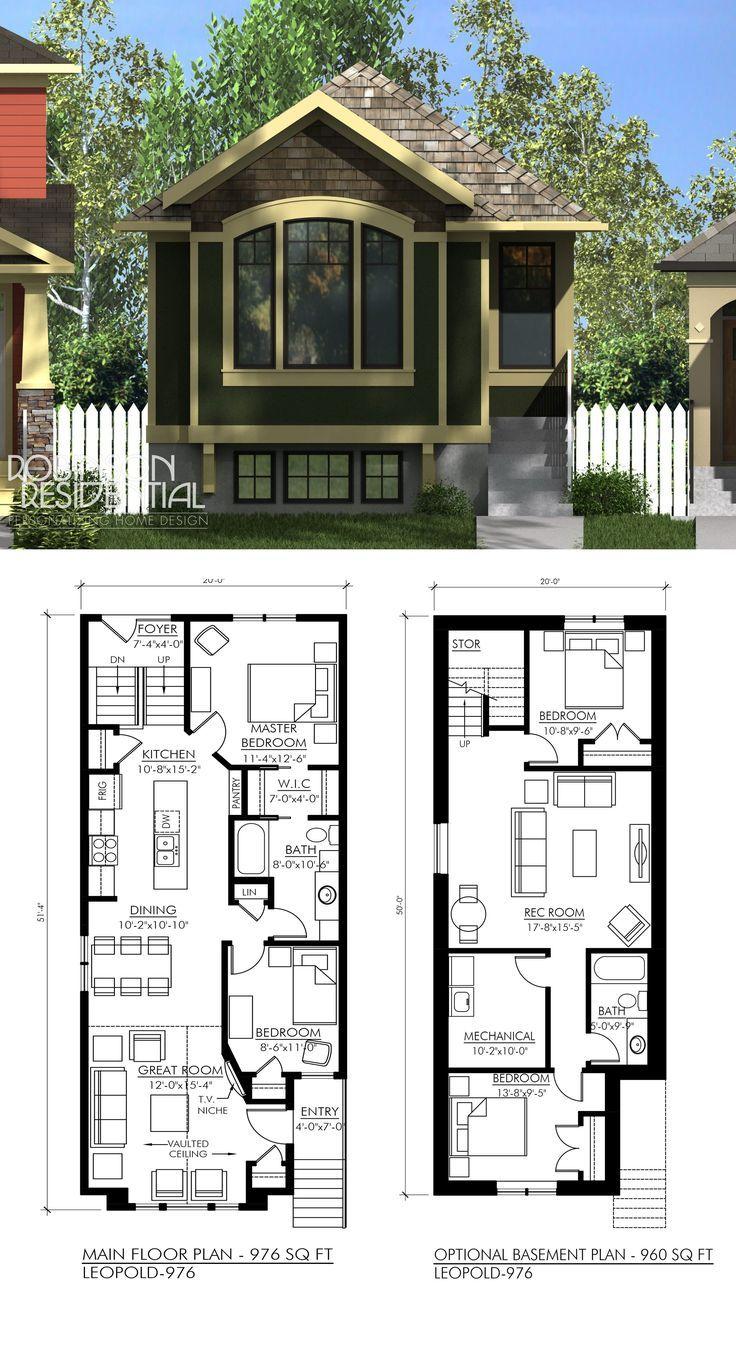 Best Craftsman Home Plans Images On Floor Plans Inside Money Pit House Floor Plan Craftsman House Plans Narrow Lot House Plans Craftsman House