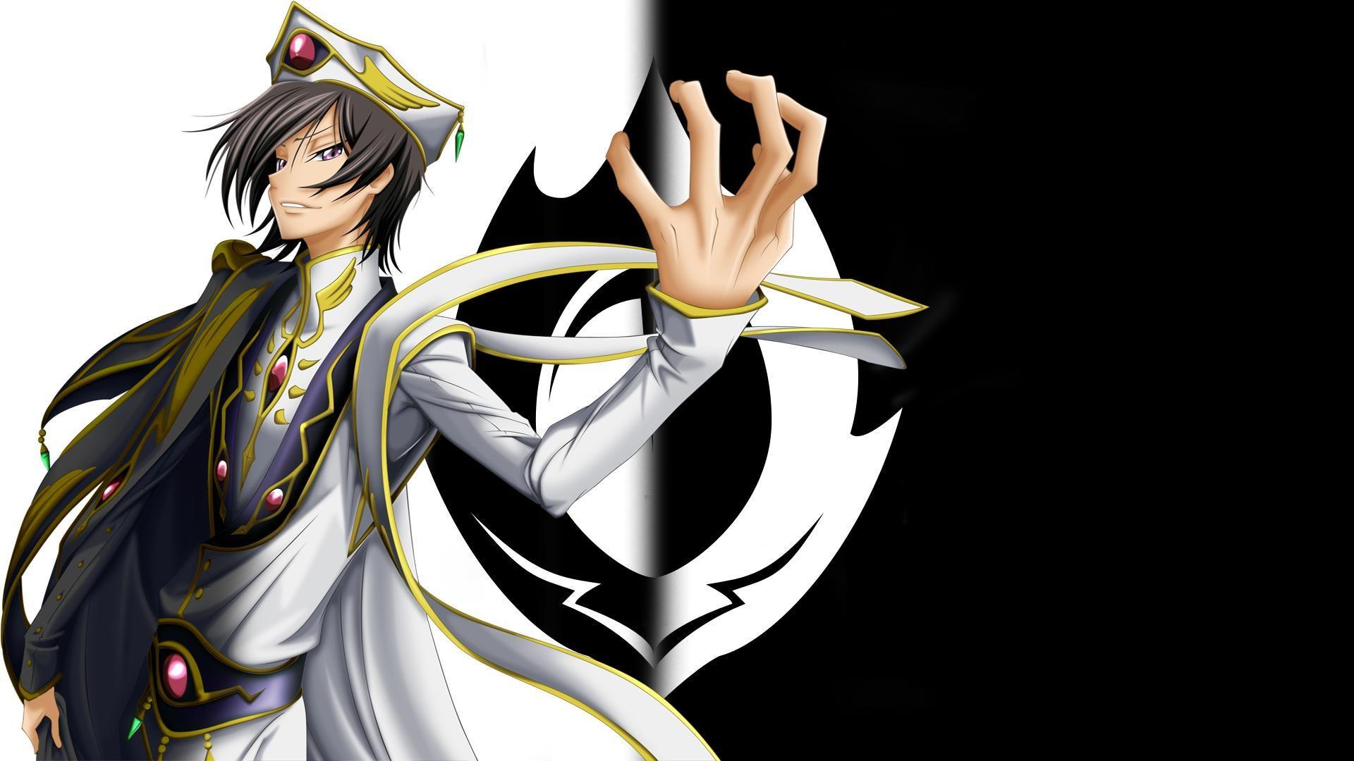 Les Mecs D Anime Les Plus Beaux Code Geass Wallpaper Code Geass Lelouch Lamperouge