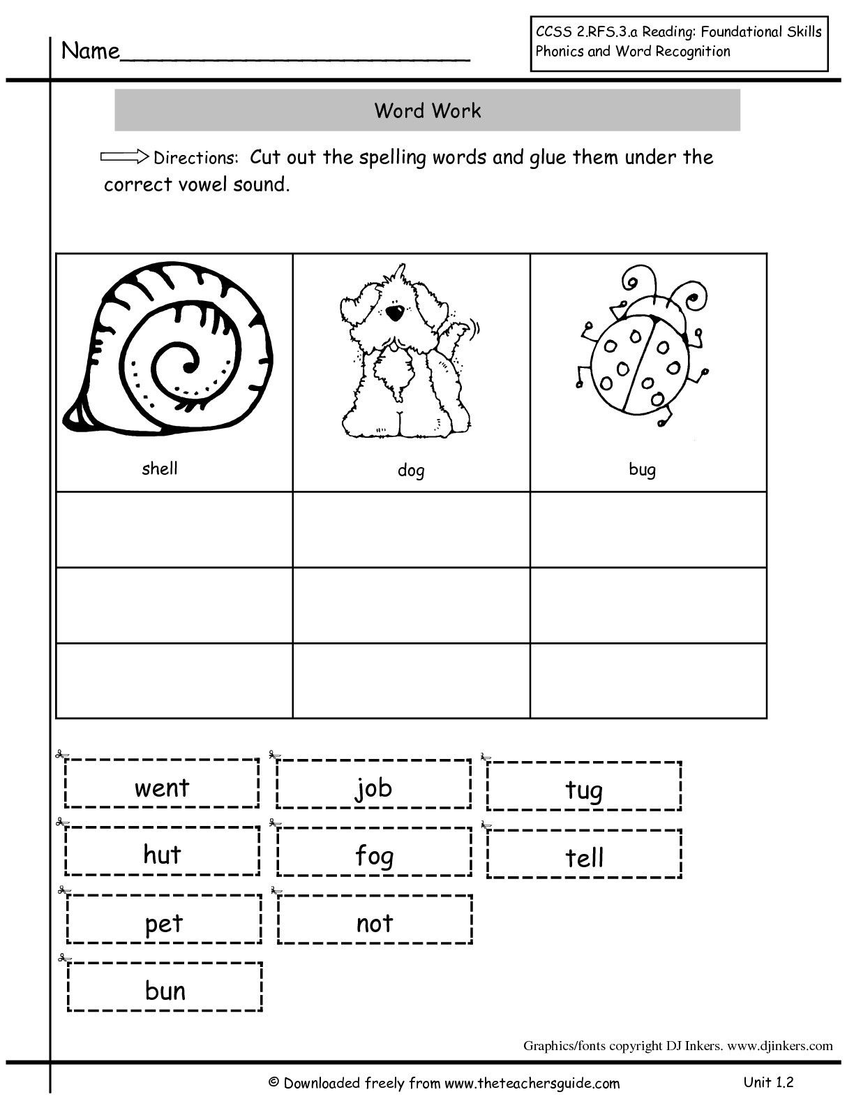 Ed Inflectional Endings Worksheets   Printable Worksheets and Activities  for Teachers [ 1584 x 1224 Pixel ]