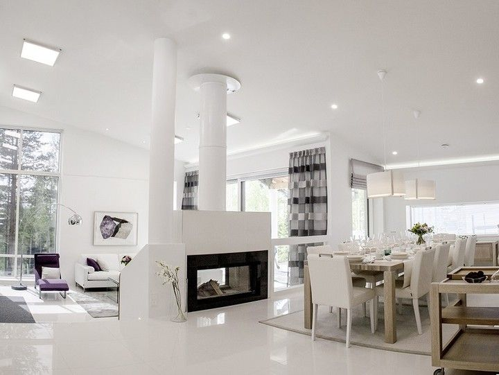 Beautiful Living Room With Winled Led Luminaires What Do You