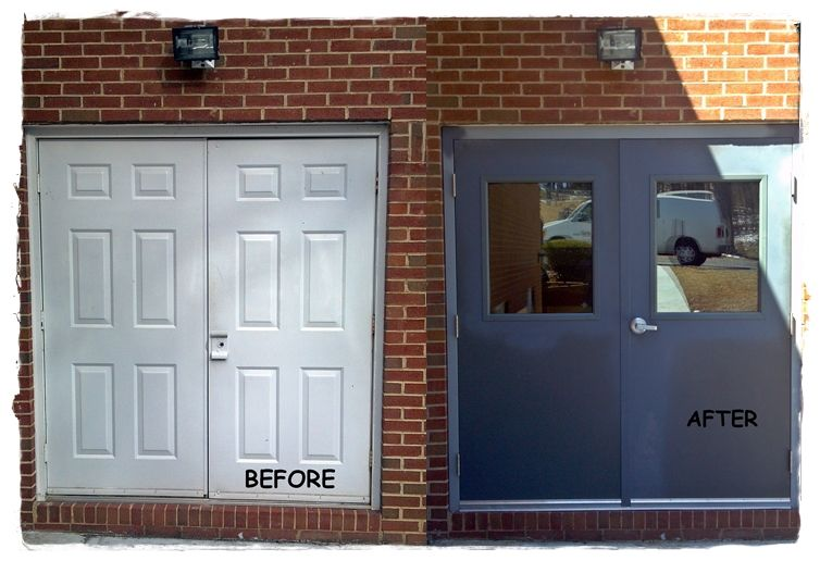 Zion Hill Baptist Church Fincastle Virginia Hollow Metal Doors Hollow Metal Frames All New Hardware Hinges Hollow Metal Doors Metal Door Glass Supplies