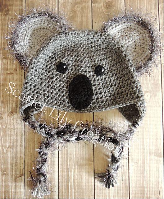 Koala Hat Pattern By Jamie Huisman Yarns Crochet And Patterns