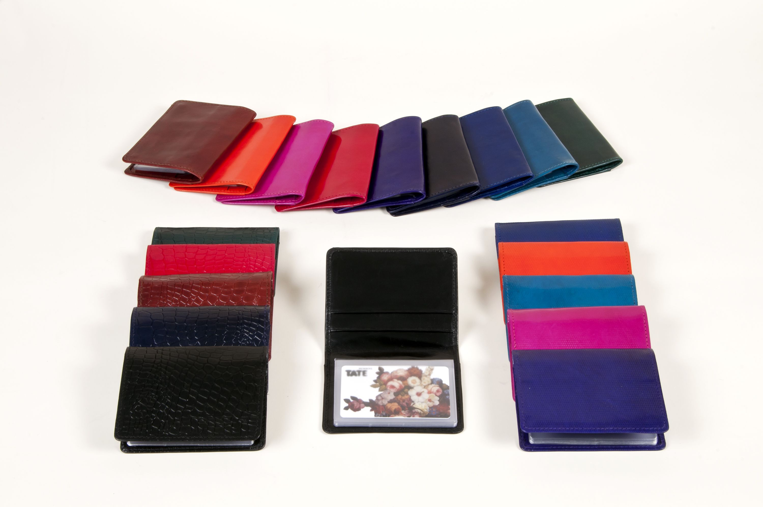 Japanese Business Card Holders come in packs of 5 in either Bright ...