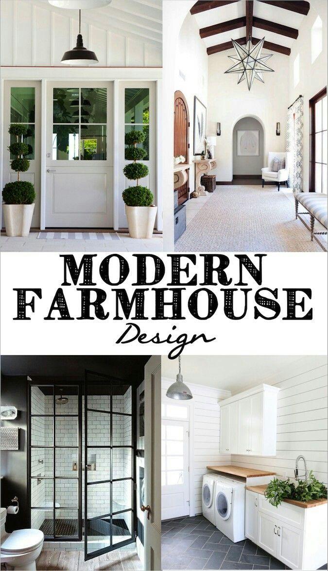 Lieblich Moderne Bauernhauspläne, Modernes Bauernhaus Badezimmer, Weißes Bauernhaus  Außen, Modernes Bauernhaus Wohnzimmer Dekor, Bauernhaustüren, ...