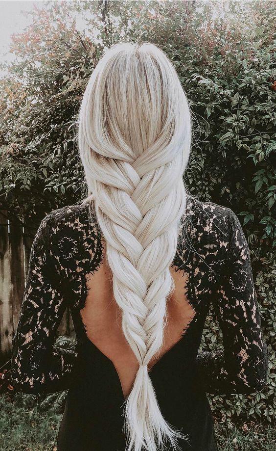 12 tresses faciles pour cheveux longs