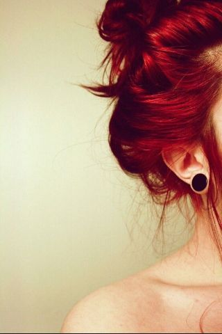 Red hair!!! (dying hair again soon, thinking ombré red and blonde/orange)