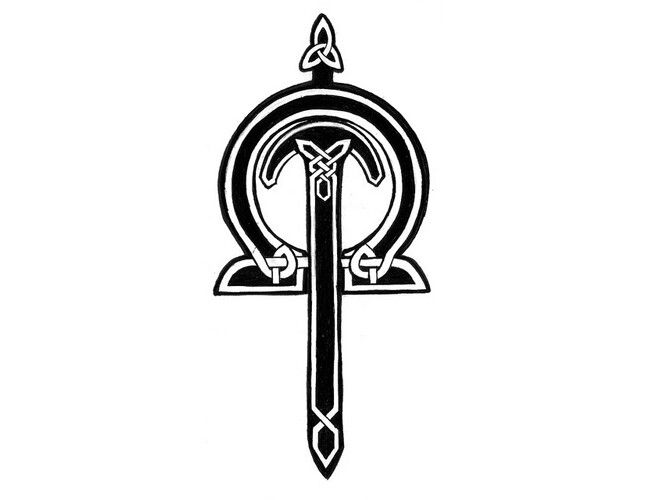 21013629b Pictures of Celtic Sword And Shield Tattoo - #rock-cafe