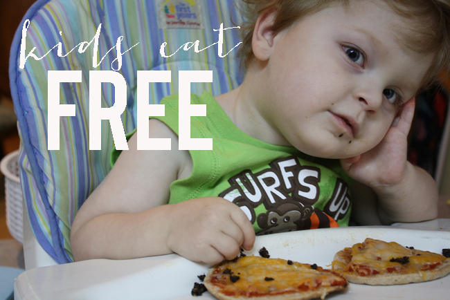 Places for kids to eat free on the Northshore