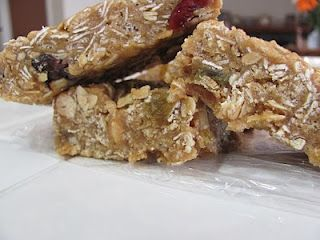 Running Upward: Homemade Energy Bars