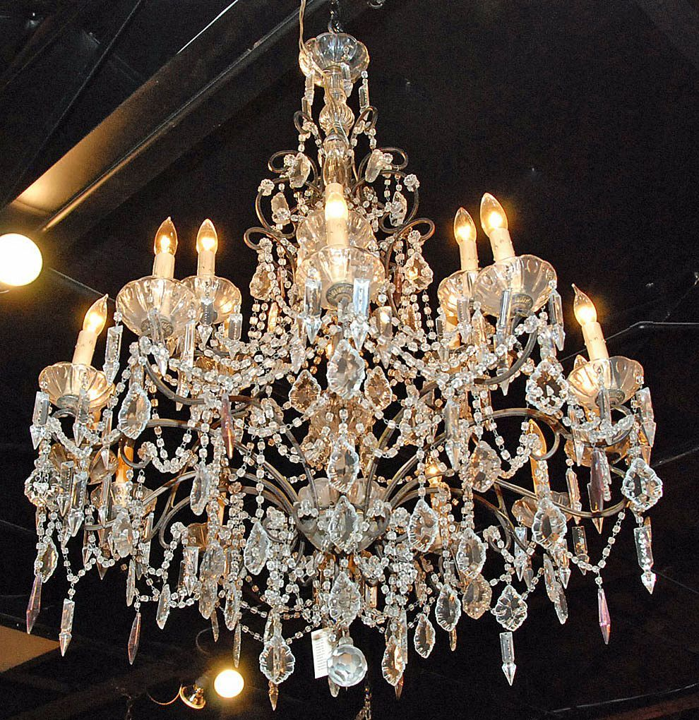Antic Most Beautiful Cristall Chandelers This Stunning French - Vintage chandelier crystals for sale