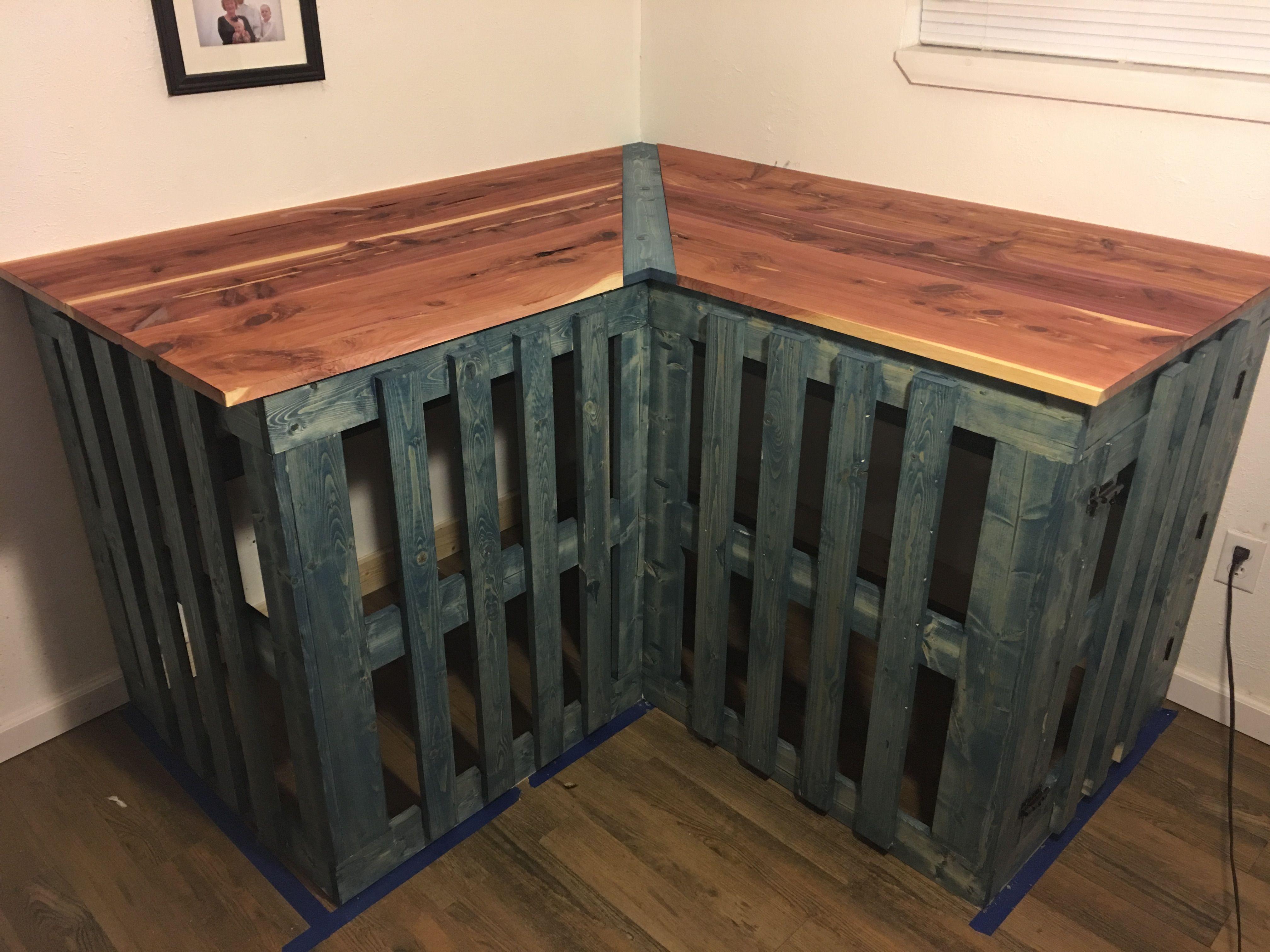 Dog Kennel Corner Table Dog Crate Furniture Diy Dog Kennel Diy Dog Crate