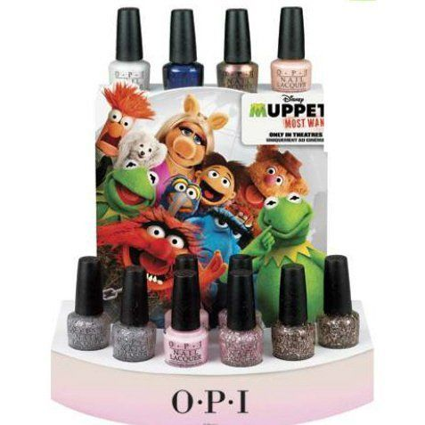 OPI Muppets Most Wanted 2014 Collection Nail Lacquer  Price : $9.00  Be the first to have this limited edition polish....before the movie comes out!!
