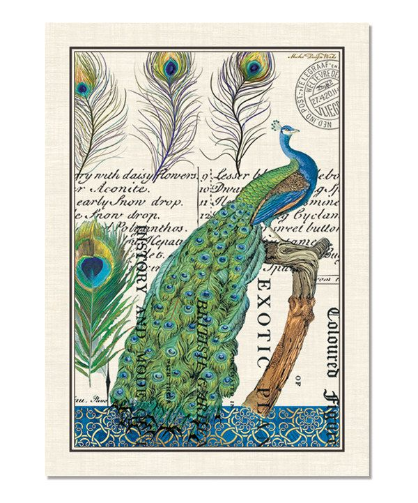 Great Take A Look At This Michel Design Works Peacock Kitchen Towel   Set Of  Three On