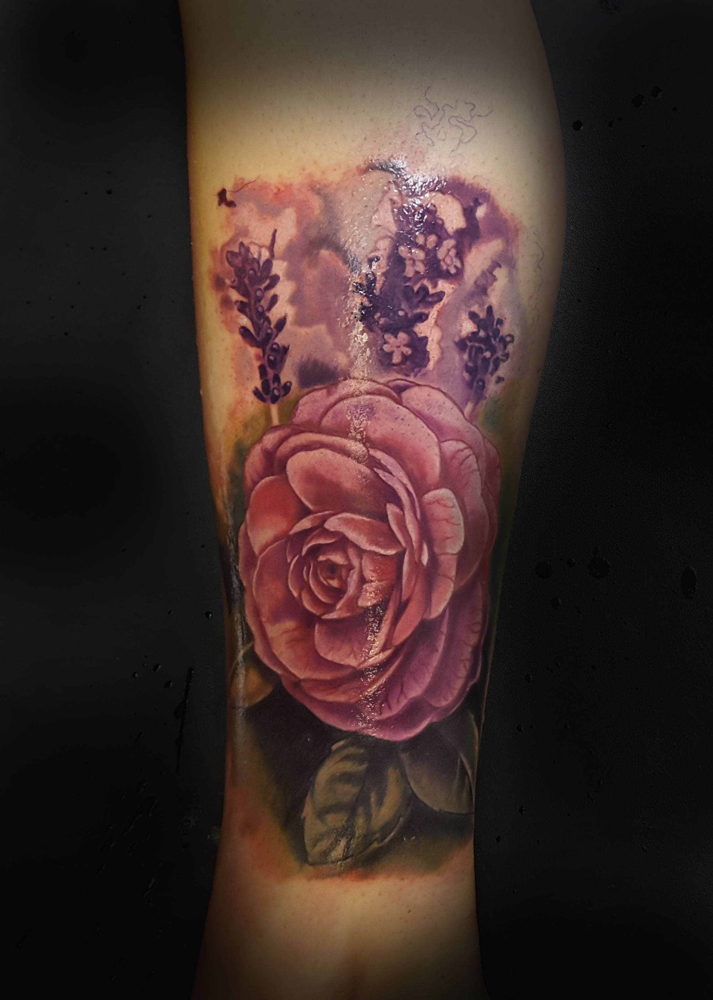 Flower Tattoo Mike Evans Tattoos Realism Tattoo Oklahoma Tattoos Elite Skin Art Flower Tattoo Tattoos Skin Art