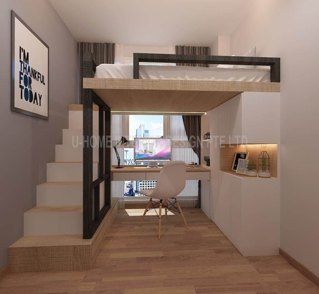 21 Marvelous Loft Bed Ideas That Will Inspire You Build A Loft