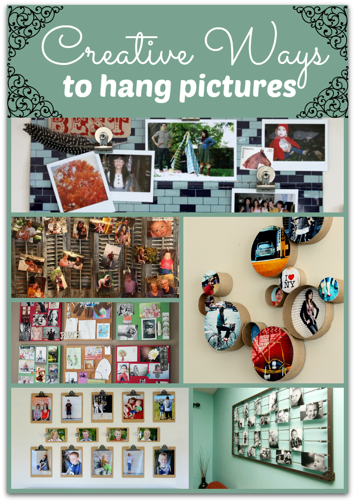 hanging pictures without frames creative ways - Design Decoration