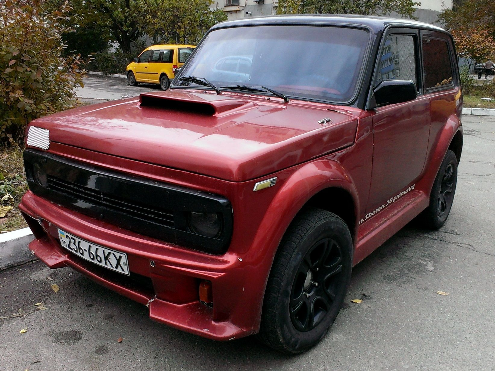 lada niva tuning wroom pinterest cars. Black Bedroom Furniture Sets. Home Design Ideas
