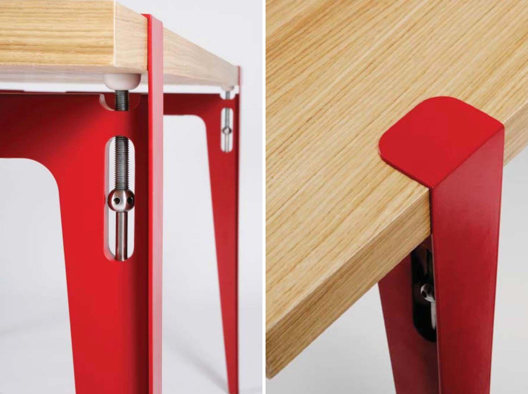 Pieds De Table Ligne Roset TU Pour Créer Une Table Pieds De - Table pied metal plateau chene pour idees de deco de cuisine