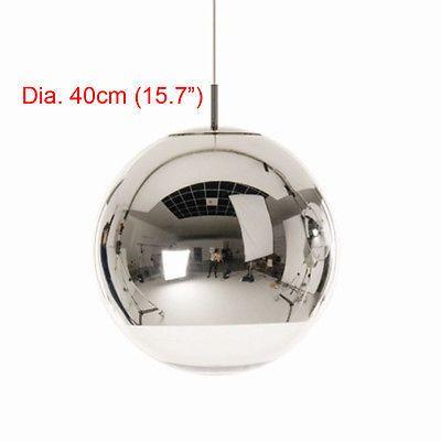 Ø15 20 25 30 35 40cm Tom Dixon Chrome Mirror Ball Pendant