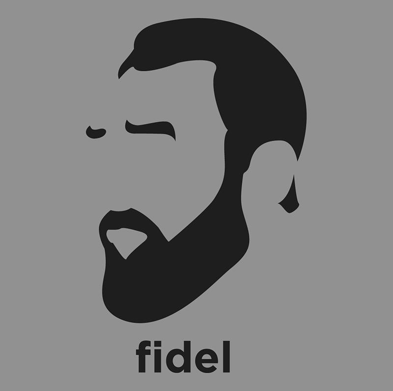 Fidel Castro Cuban Communist Revolutionary And Politician Who Was Prime Minister Of Cuba And Then President Of Fidel Kastro Siluet Eskiz