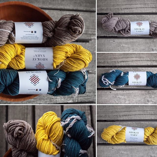 Shokay Shambala 100% yak yarn is soft, smooth, and comes in many beautiful colors. We just introduced these three: Earth, Canary, and Teal. This worsted weight yarn will make a warm, soft hat or scarf for anyone on your Christmas list, including yourself! Grab a skein at fairlightfibers.com today.