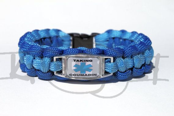 Taking Coumadin Medical Alert Id Alloy Charm On 550 By Knotkrazy 15 00