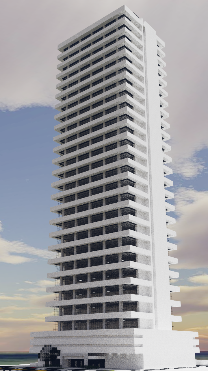 A Modern Apartment Building I Made In Minecraft Download Link