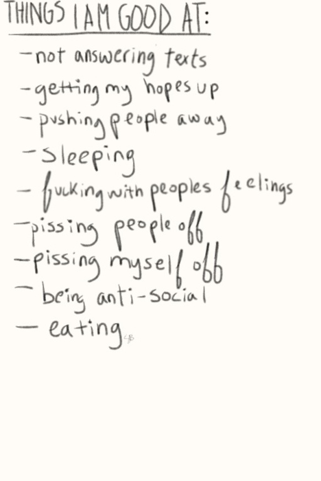 Stay positive! Look at all these things depressed people are good at!
