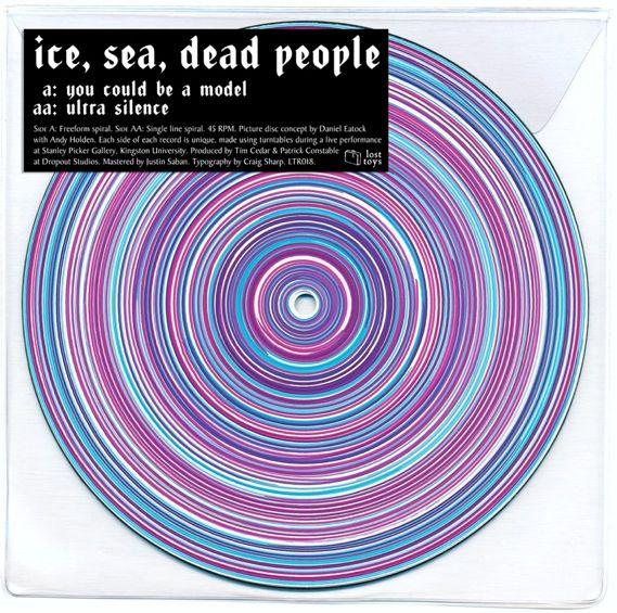 Ice, Sea, Dead People's spun picture discs