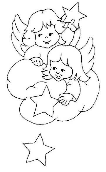 Cris Arte Christmas Coloring Pages Angel Coloring Pages