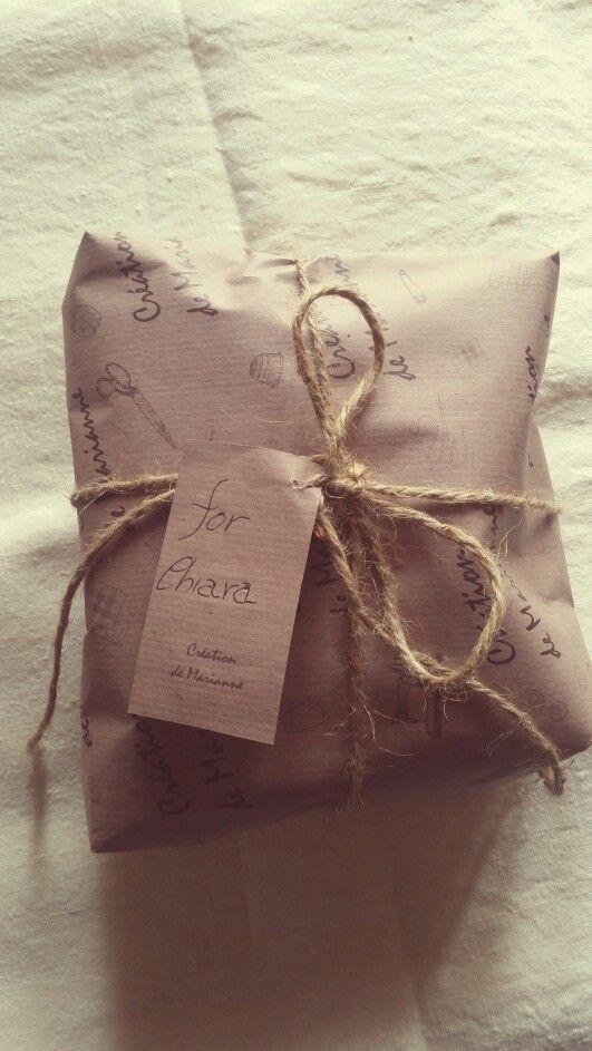 A gift for Chiara.. Création de Marianne..