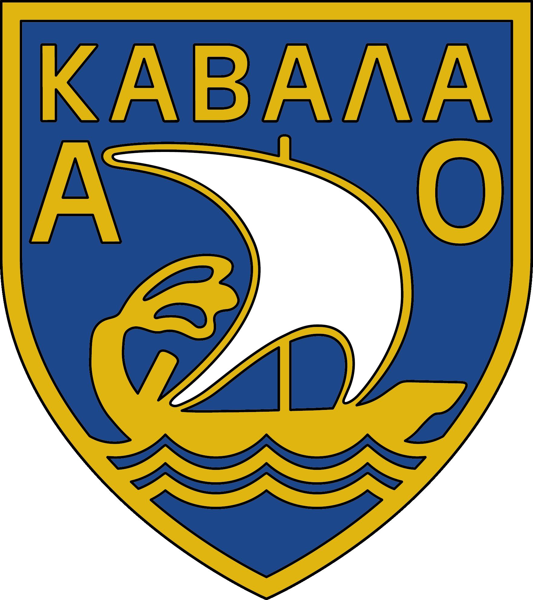 Ao Kavala Football Logo Logos Cal Logo