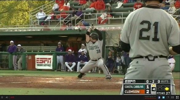 Alex Buccilli S Batting Stance I Don T See What The Big Deal Is It S Not How You Start But How You Finish Baseball Coastal Carolina Sports