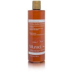 Murad Professional Scalp Treatment For Thinning Hair Conditioner ( Color-Treated Hair ) 11.9 oz by Murad. $7.75. Murad Conditioner enhances and protects the scalp after color processing and blow drying, while strengthening and enriching the hair. Murad Conditioner for Color-Treated to Normal Hair is a patented formulation designed to moisturize and fortify the scalp with vital nutrients, nourishing healthy hair growth. Murad Conditioner for Color-Treated to Normal Hair is...
