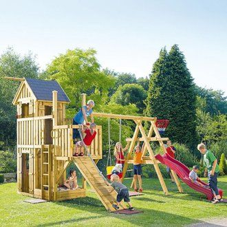 Aire De Jeux Pisco Tour Cabane Toboggan Bac Sable Agr S For Kids Room And Playroom