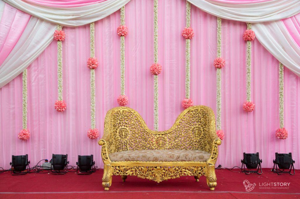 An Intimate Tam Brahm Wedding in Chennai | Wedding stage ...