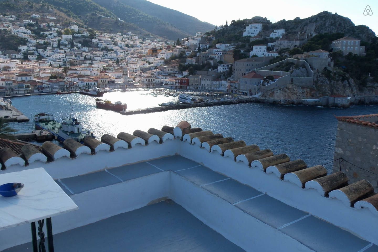 hydra airbnb amazing views patio private house 185 night