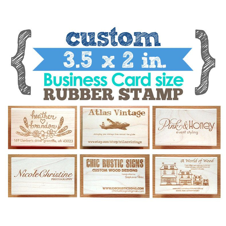 Your custom design 35 x 2 in business card art wood mounted your custom design 35 x 2 in business card art wood mounted rubber reheart Image collections