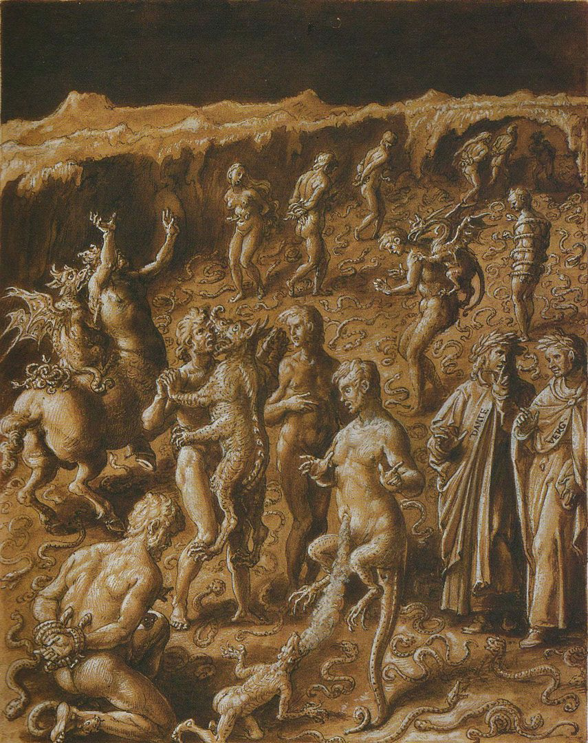 Canto xx of dantes inferno