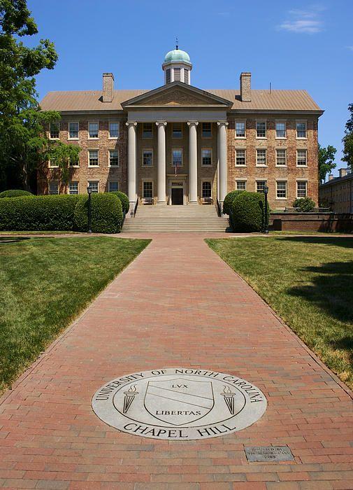 Unc Ch South Building By Orange Cat Art North Carolina Chapel Hill Chapel Hill North Carolina Chapel Hill University