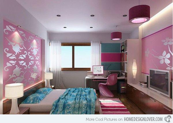 20 Multi Color Creative Bedroom Designs