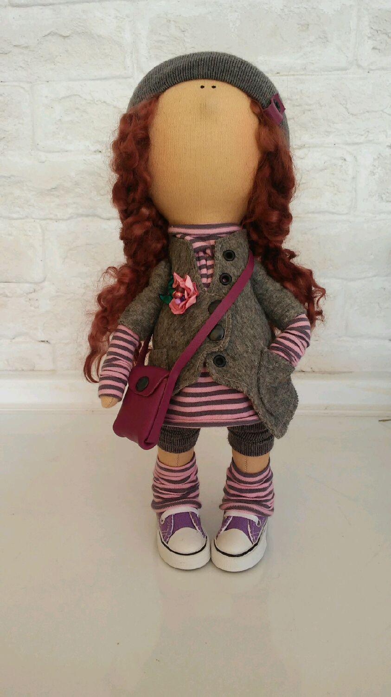 Купить Аля - ханд майд, handmade, ручноя работа, кукла ручной работы, интерьерная кукла