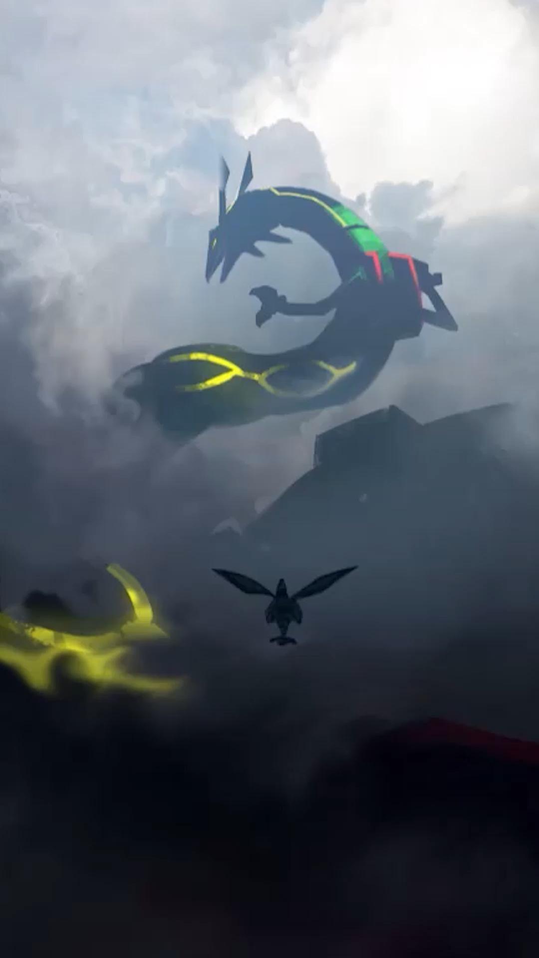 Pokemon - Rayquaza  [ Live Wallpaper ] download link : https://youtu.be/xFeWWpc86sU