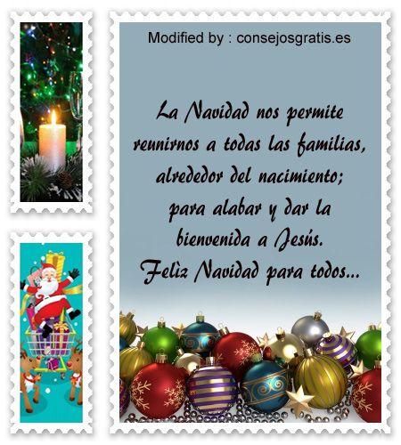 buscar bonitos textos para enviar en Navidad,descargar poemas para enviar en Navidad: http://www.consejosgratis.es/mensajes-de-navidad-para-tu-familia/