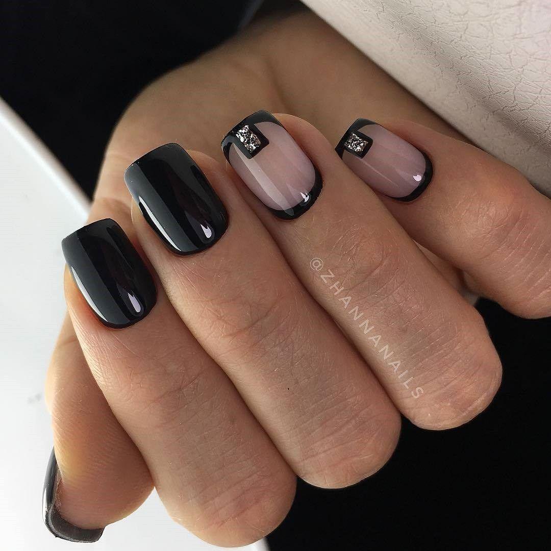100 Winter Nail Designs 2018 - Reny styles   Nägel   Pinterest ...